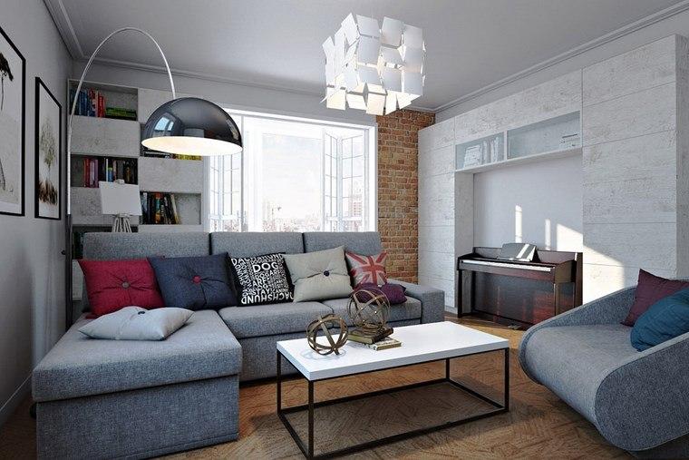Decorar salon peque o con estilo y modernidad - Ideas decoracion salon pequeno ...