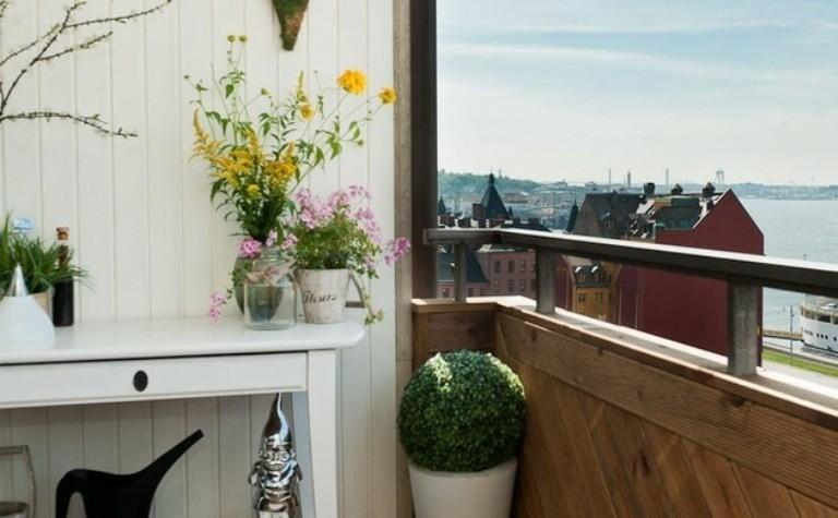 decorar terrazas plantas flores