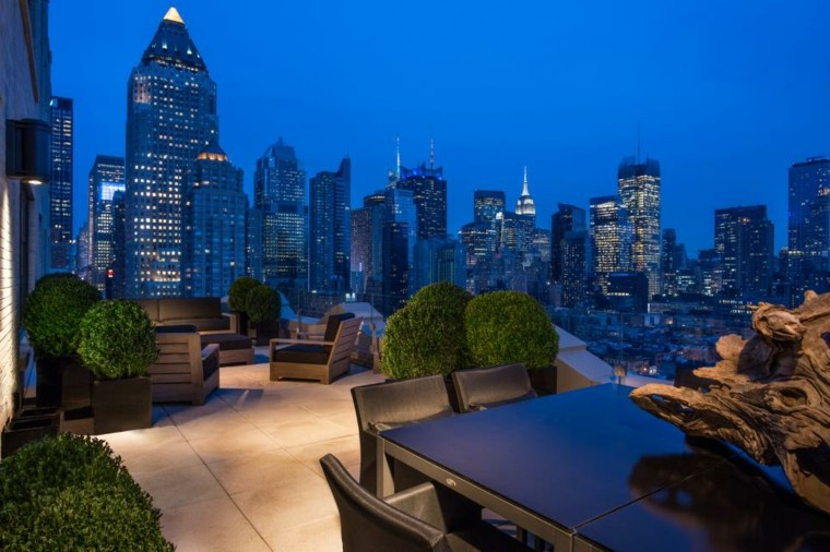 decorar terrazas urbanas soluciones mesas moderno