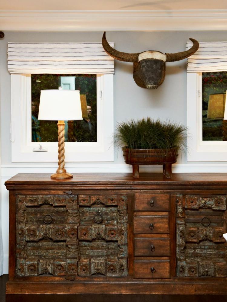 decoracion casas rusticas toro muebles cobre