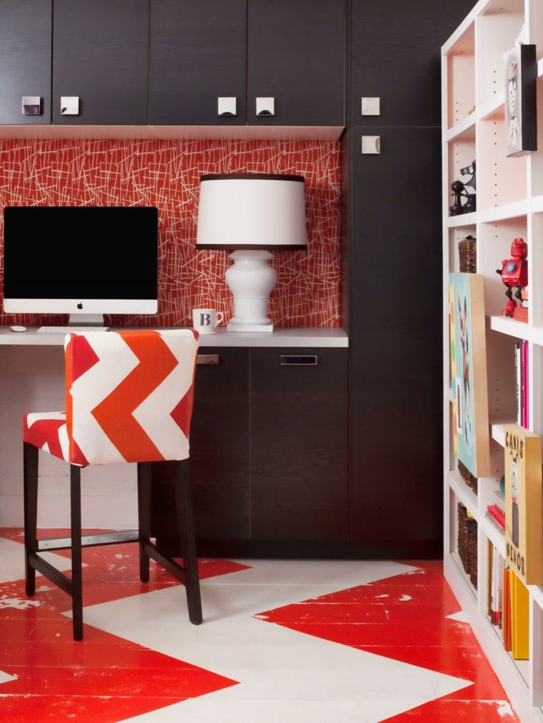 detalles rojo ideas soluciones muebles