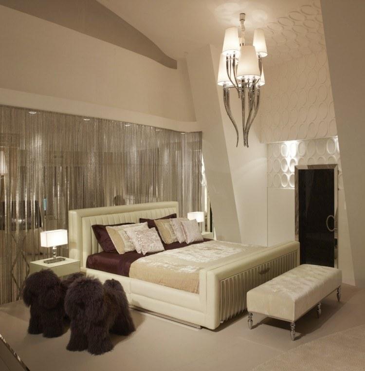 diseño habitacion beige dos perritos