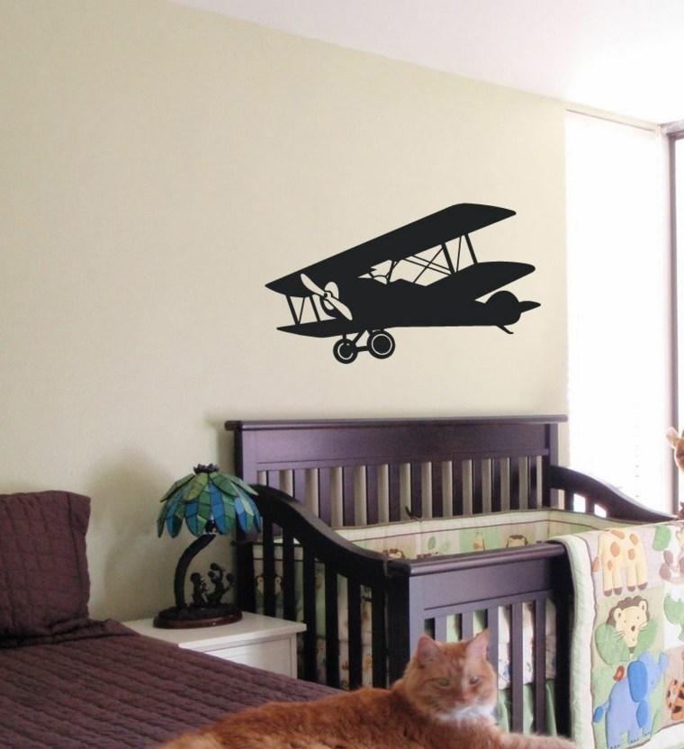 diseño moderno dormitorio bebe