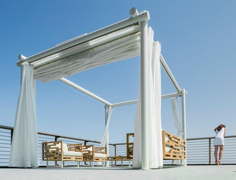 diseño pérgola BT Group