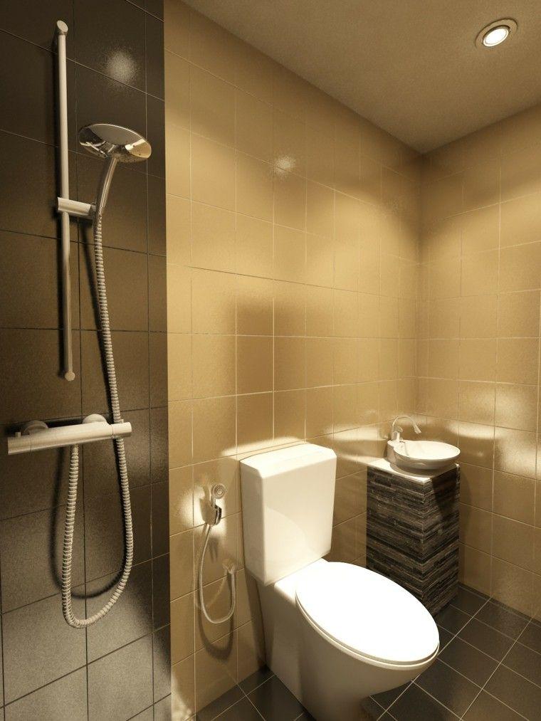 diseño azulejos baño modernos