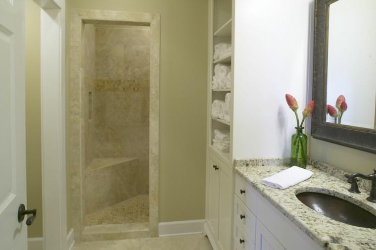 diseño baño pequño cabina ducha