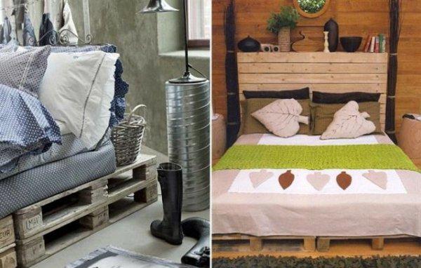 diseño camas palets madera