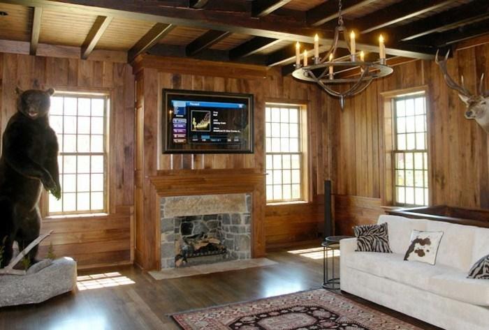 diseño casas salones cabañas oso