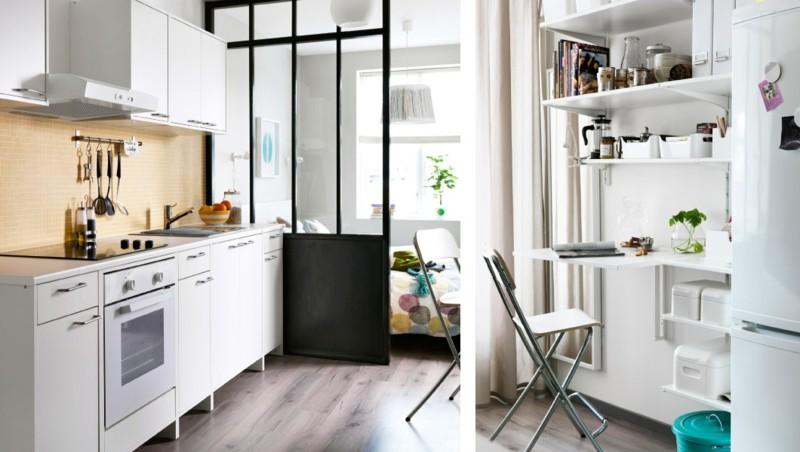 Diseo armarios ikea suelo laminado blanco muebles de ikea for Cocinas muy baratas