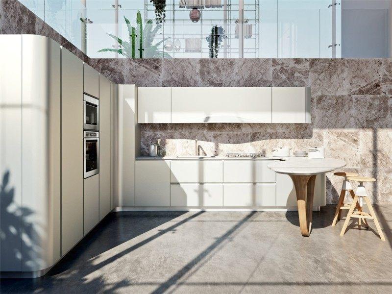 diseño cocina italiana modelo ola