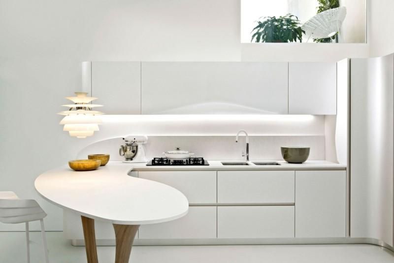diseño cocina lujosa modelo ola