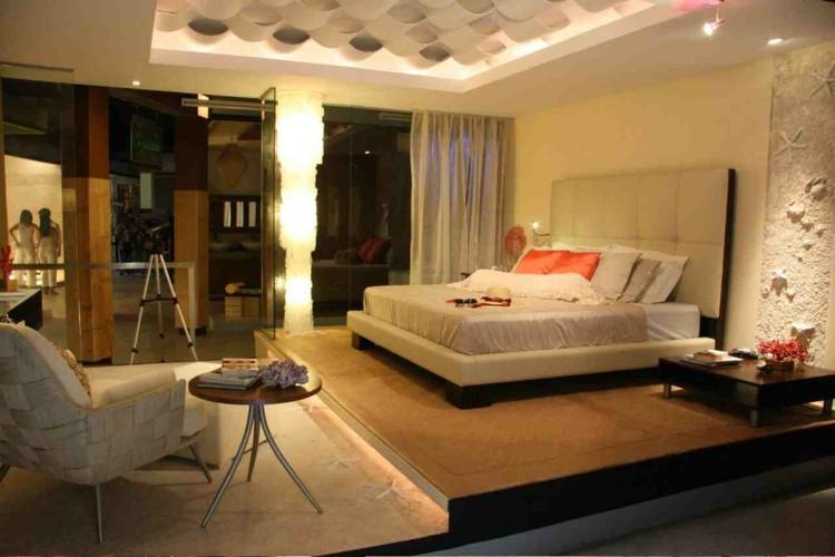 diseño dormitorio originales relieves