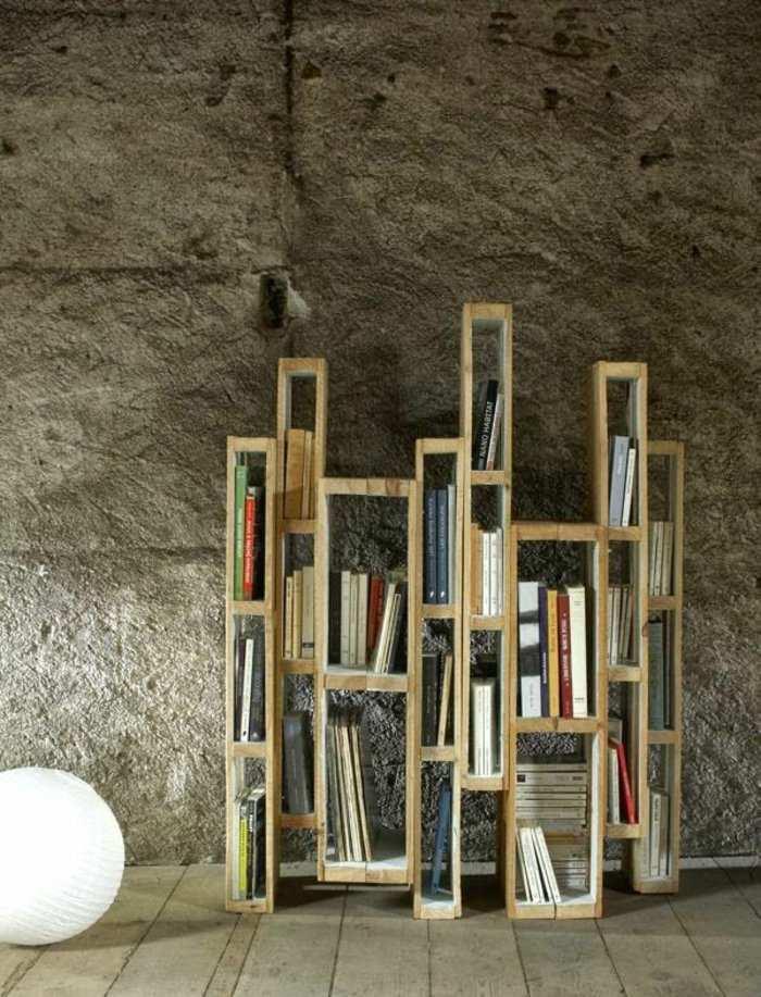 original diseño estantes madera