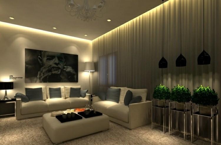 diseño estilos elegantes hormigon lamparas