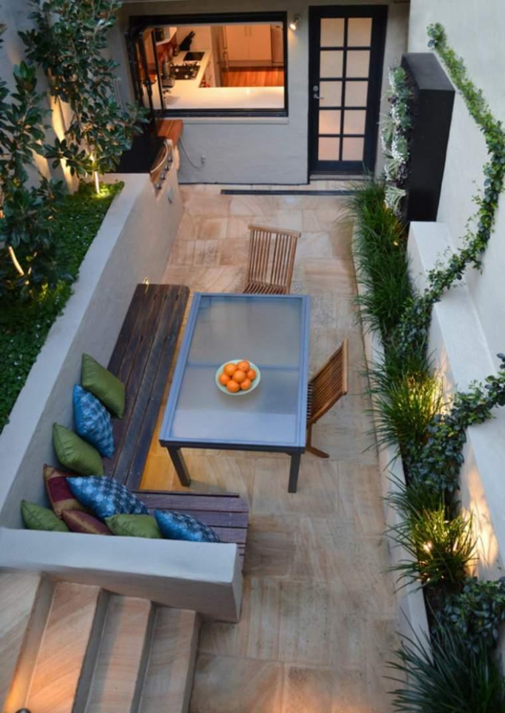 Banco para terraza - el asiento perfecto para el exterior