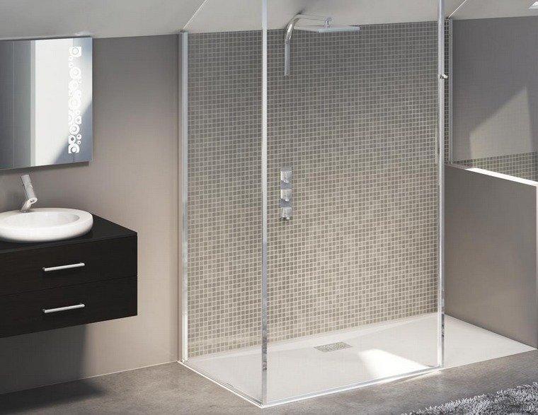 Baños Verde Con Beige:Gresite baños – revestimientos que crean ambientes