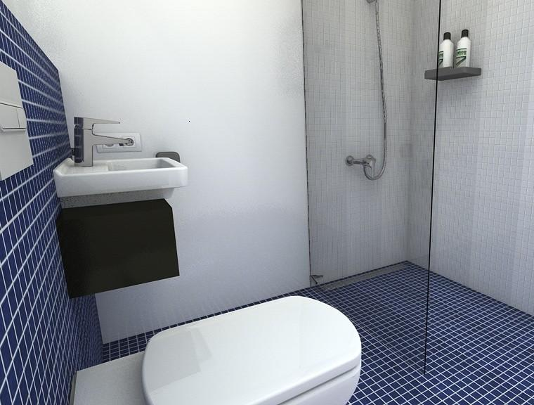 Muebles Baño Ambiente Azul:Gresite baños – revestimientos que crean ambientes