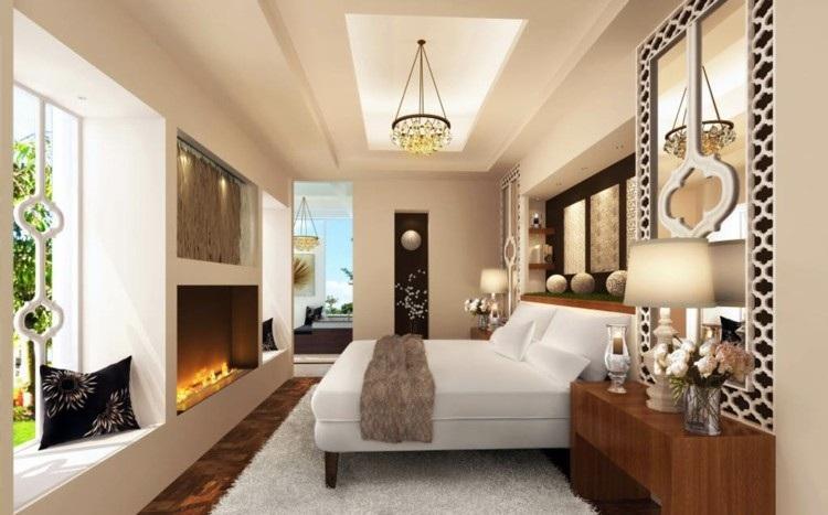 diseño habitacion modwerbna motivos arabes