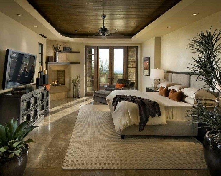 decoracion habitacuion estilo tropical