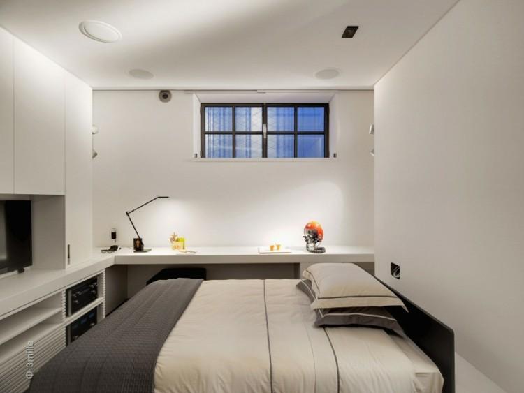 diseño habitaciones pequeñas modernas deco