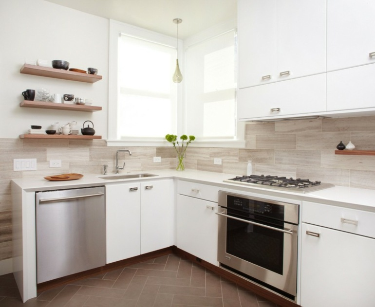 original diseño cocina blanca