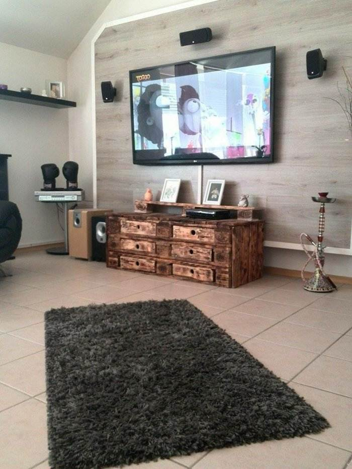 Mueble Con Pallets Pictures to pin on Pinterest