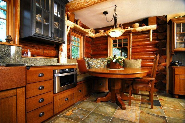 diseño muebles madera brillante