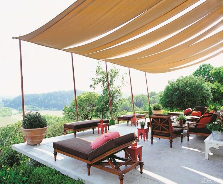 diseño muebles terraza madera jaridn