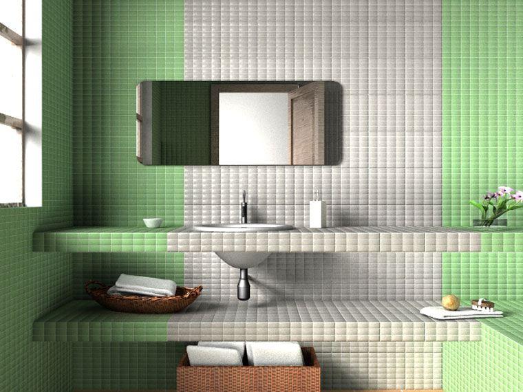 Gresite ba os revestimientos que crean ambientes - Revestimientos banos ...