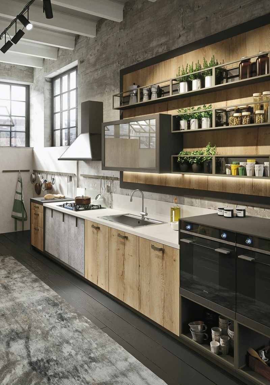 diseño cocina snaidero modelo loft