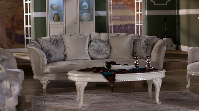 diseño sofá chester color gris