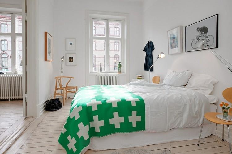 diseño dormitorio estilo nordico