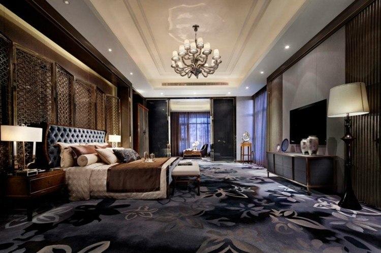 diseño habitación estilo lujoso
