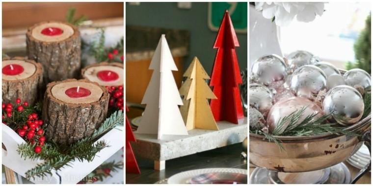 La navidad est cerca han decorado ya su hogar - Centros navidenos caseros ...