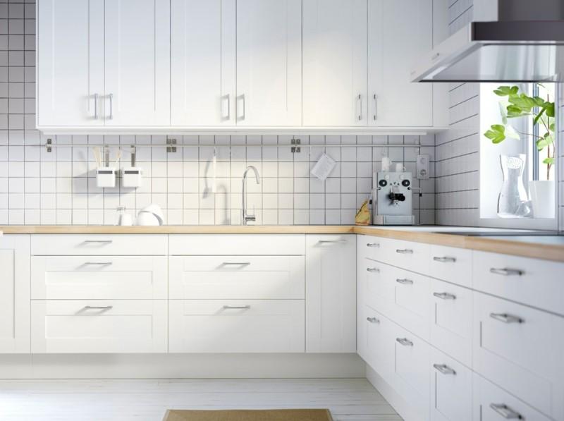 diseños cocinas blancas modernas