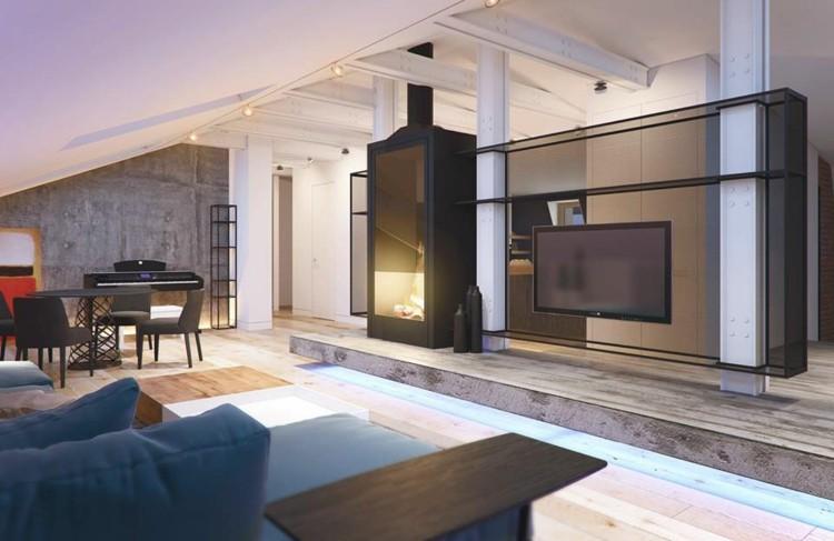 diseños estilos casa decorado mesa negro