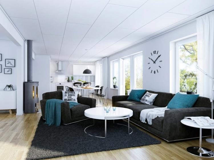 diseños estilos casa decorado relojes alfombra