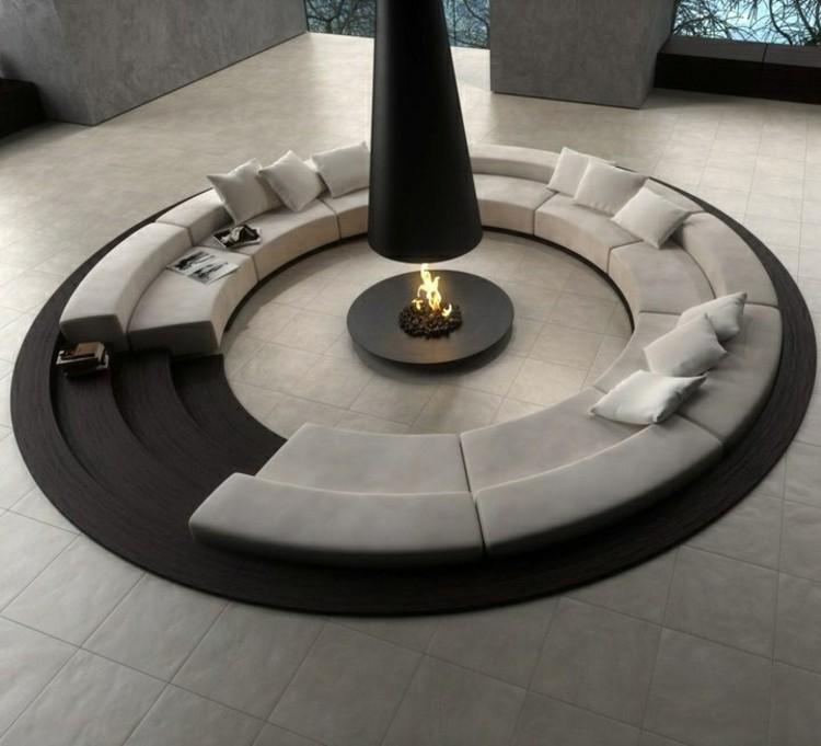 diseños estilos casa decorado negro