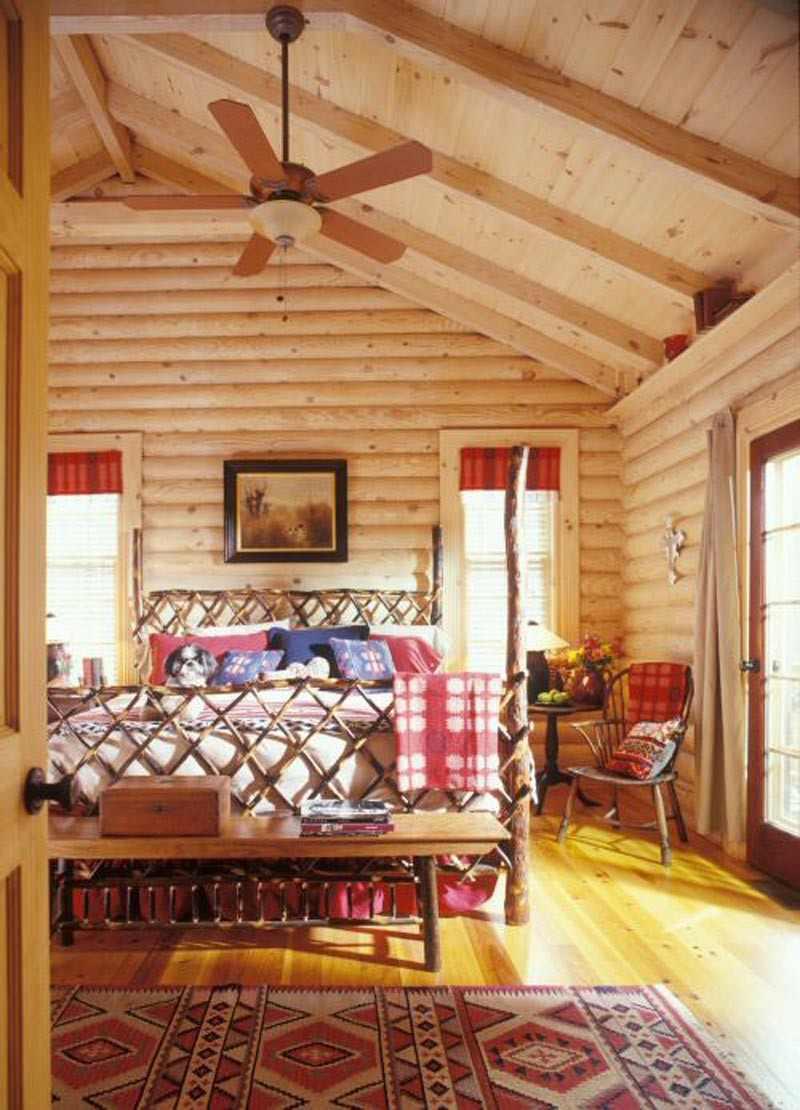 Decoracion de dormitorios rusticos madera y piedra for Master decoracion