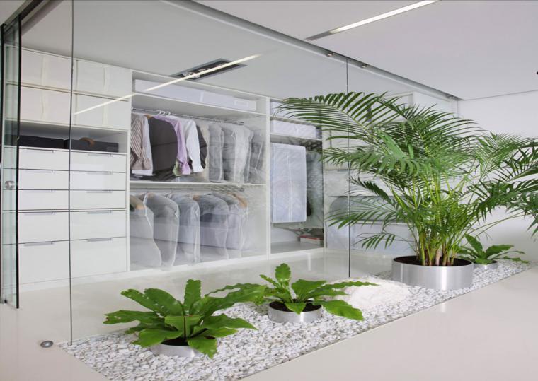 diseños jardines interior modernos