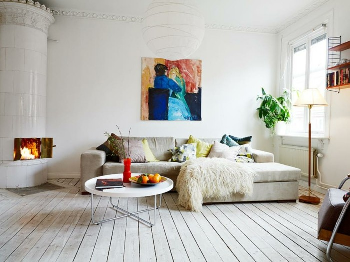 diseos salones modernos suelos madera with suelos madera interior