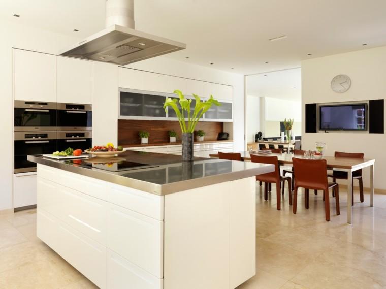 Dise os de cocinas ideas originales para inspirarse - Isla cocina pequena ...