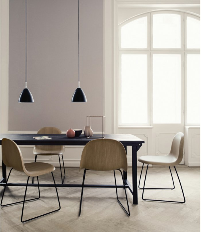 dorados centro mesa hormigon metales negro
