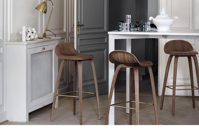 dorados centro mesa hormigon madera