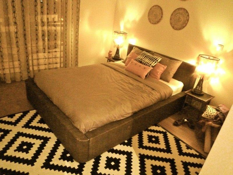 dormitorio moderno decoracion etnica