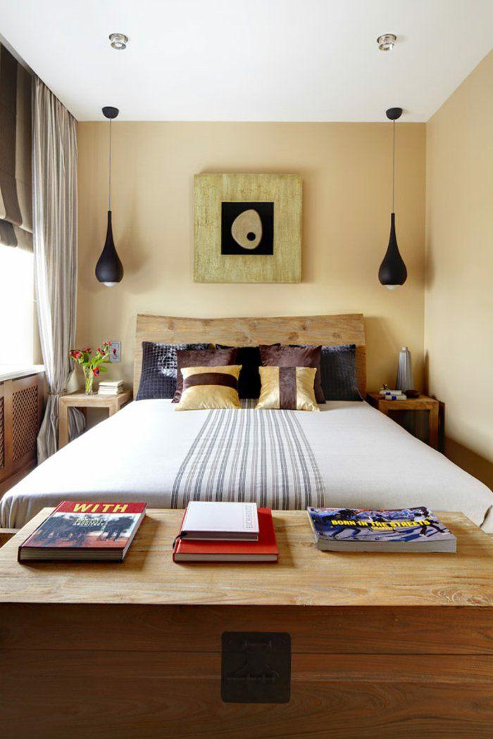 dormitorio diseño detalles cabecero madera negro