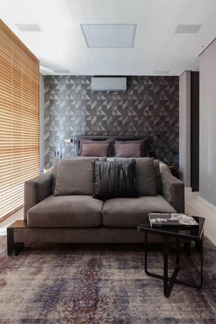 dormitorio diseño detalles casas maderas listones acento