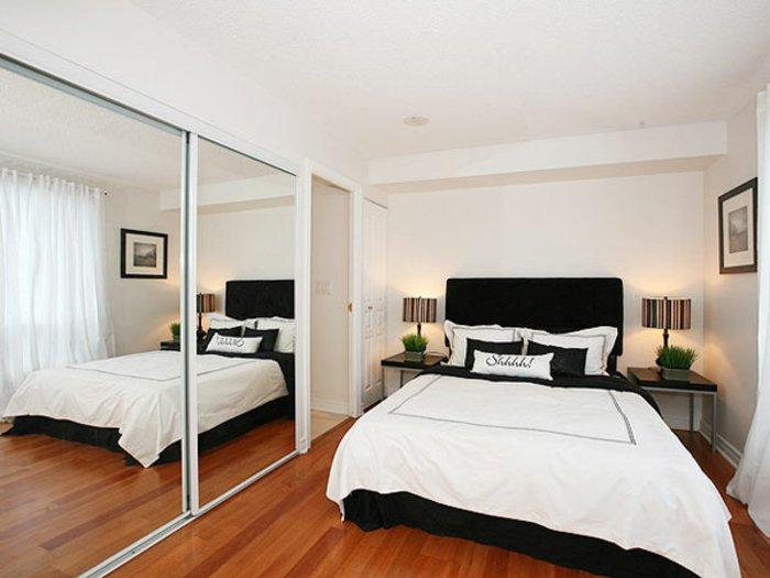 dormitorio diseño detalles casas maderas natural espejos