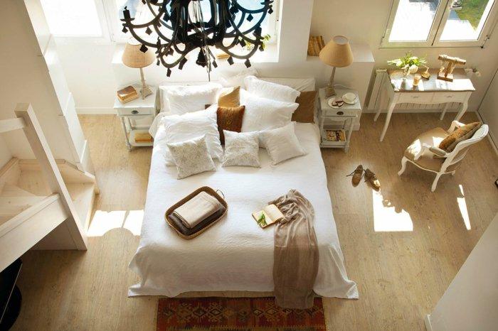 dormitorio diseño detalles casas maderas ambiente