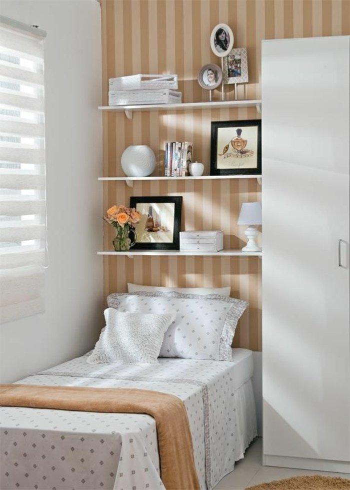 dormitorio diseño detalles listones rayas mueble